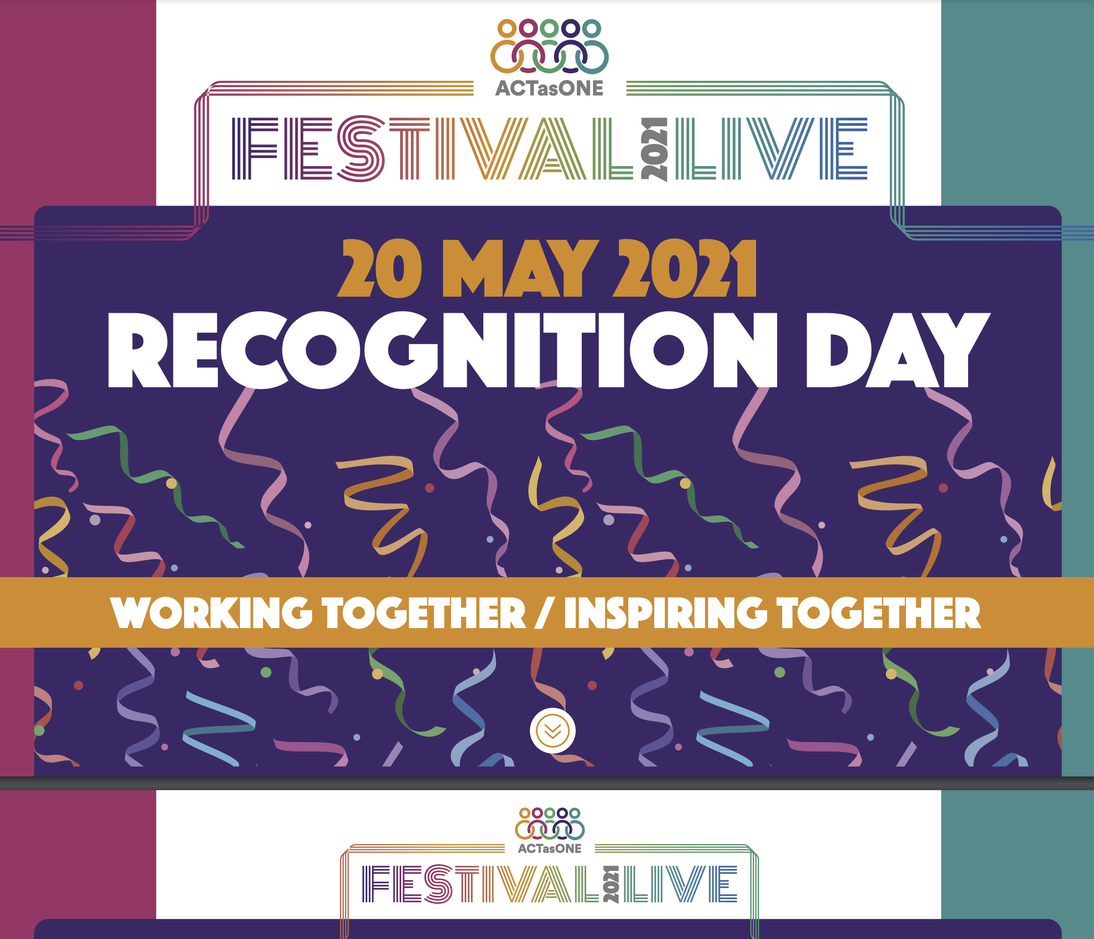 Act as One Festival Recognition day